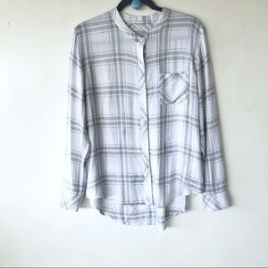 Rails plaid button down shirt sz large